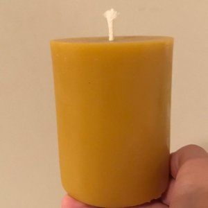 Beeswax Candle 100% Authentic 3x4 inches  FREE SHIPPING to ALL 50  STATES!!!!